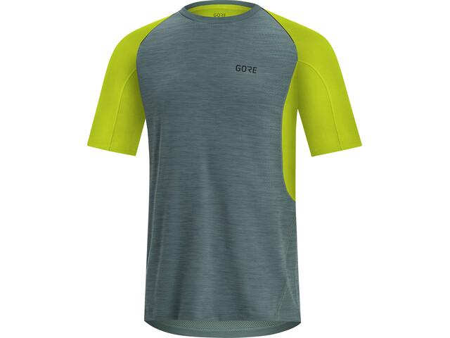 GORE WEAR R5 T-shirt Homme, nordic blue/citrus green
